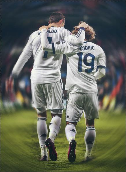 Modric And Ronaldo V1 by MB2GFX