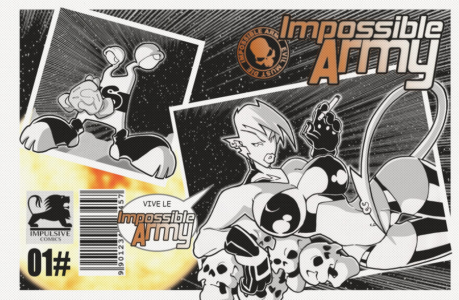 IMPOSSIBLE ARMY N01 COVER by javipascual213