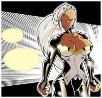 STORM X-MEN by javipascual213