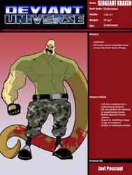 Deviant Universe - (Sergeant Kraken) by javipascual213