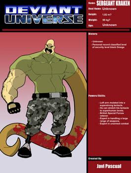 Deviant Universe - (Sergeant Kraken)