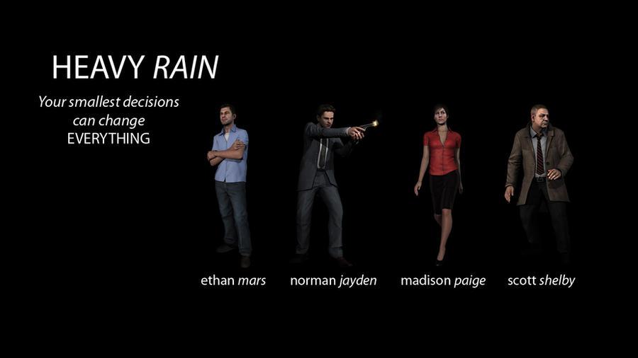 1000+ images about Heavy Rain on Pinterest | Rain, Quantic ...