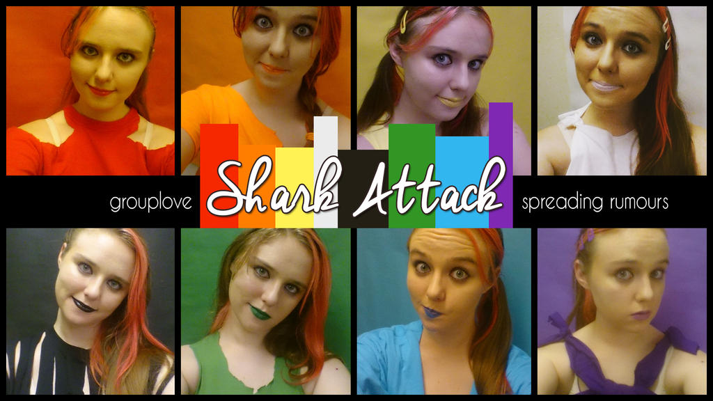 SHARK ATTACK [grouplove] VIDEO by Captain-Grossaint