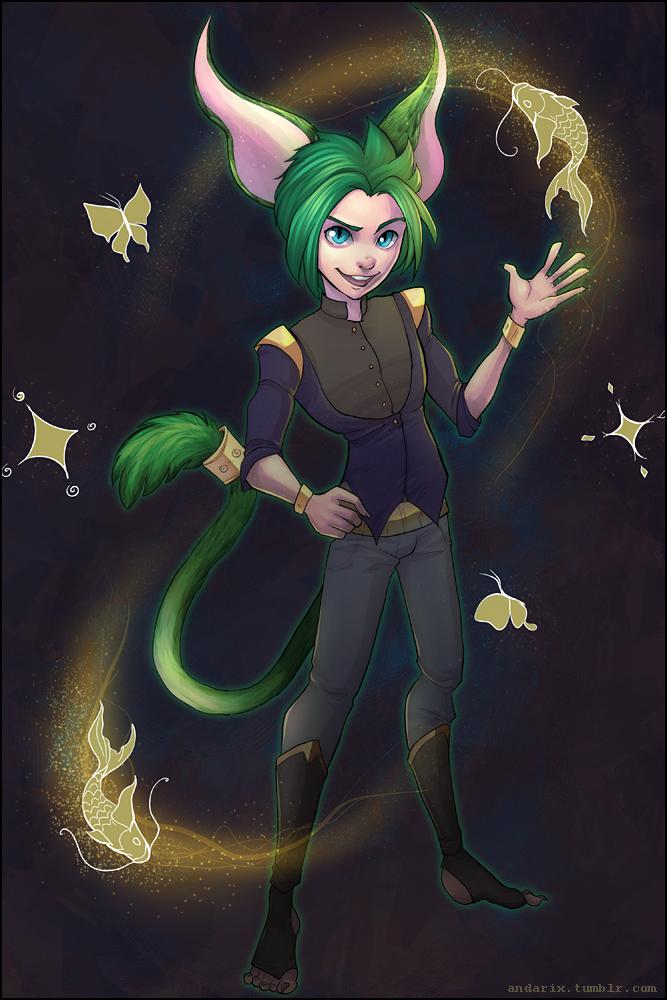 Commission:  Wildstar Aurin Fenwick by andarix