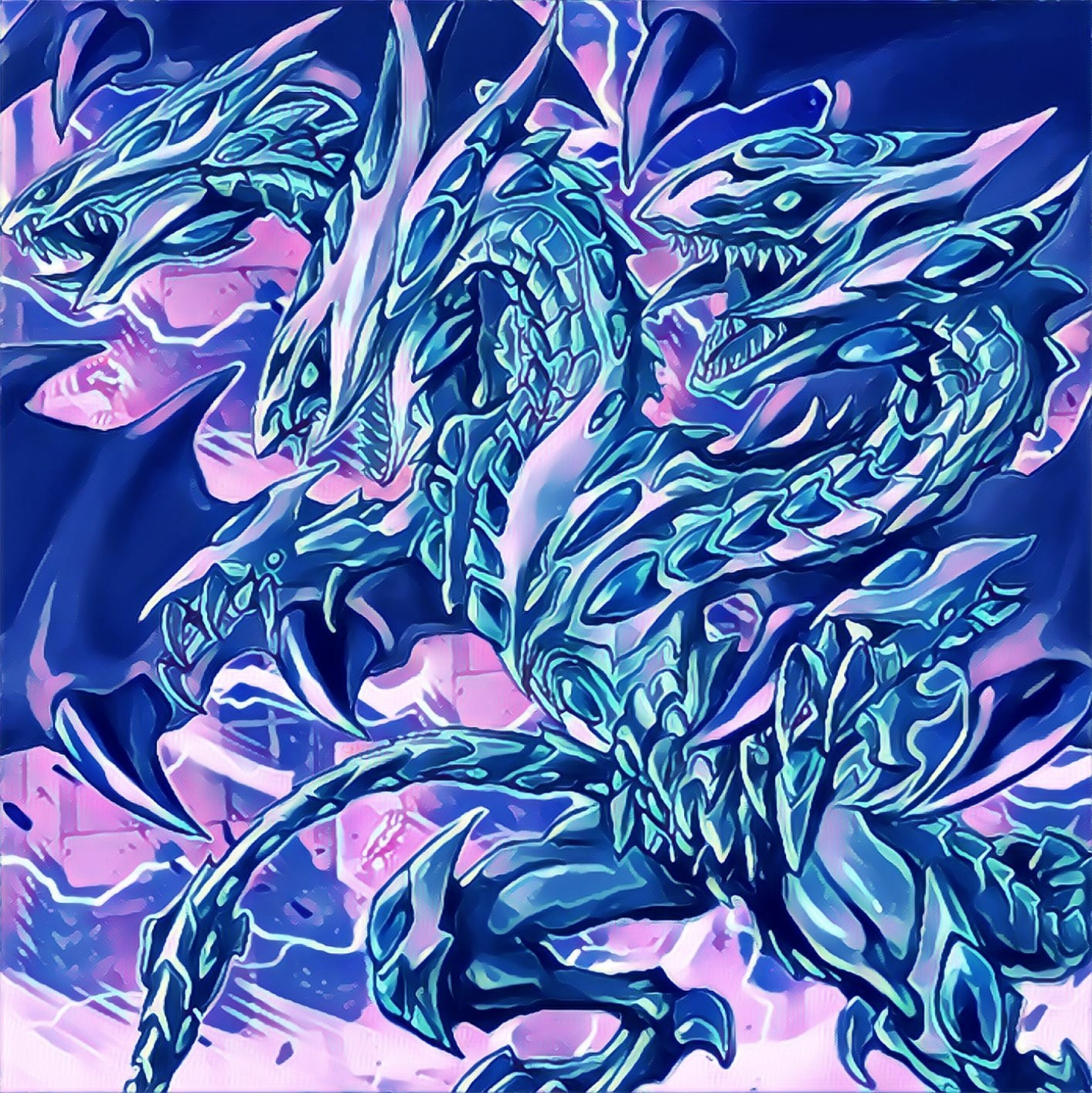 Blue Eyes Alternative Ultimate Dragon By Sefeiba On Deviantart