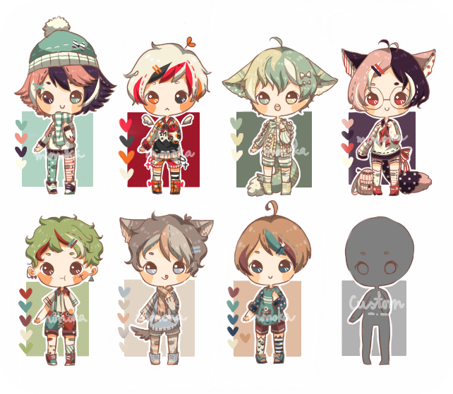 (FLASH AUCTION/closed) November Batch by 02x17