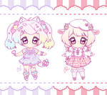 OPEN SET PRICE Pink Cuties