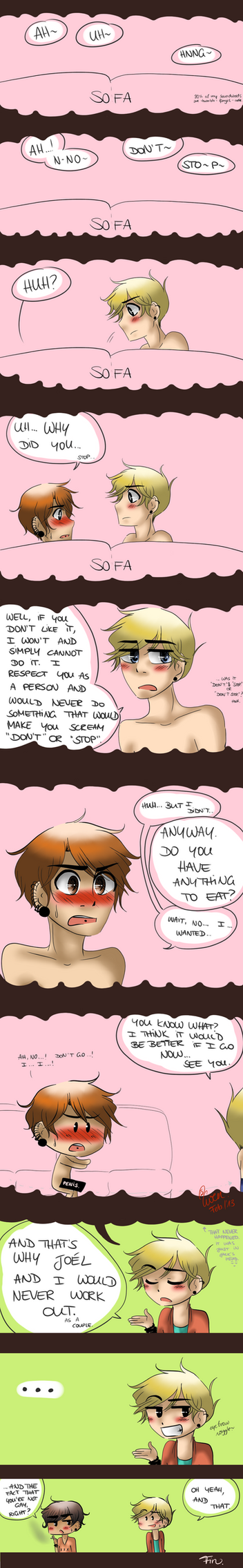 NO HOMO GANG: THAT'S WHY. by TheGweny