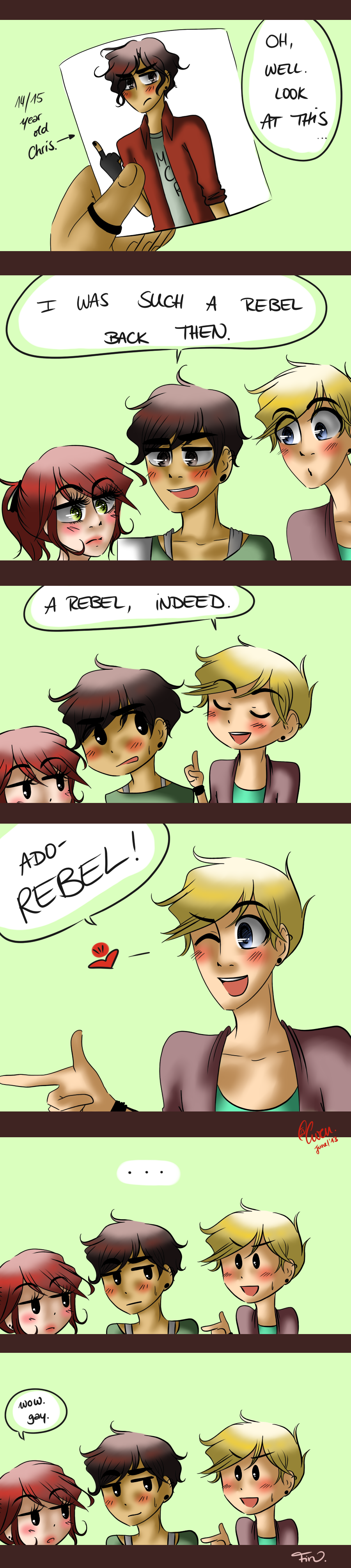 NHG: WHAT A REBEL. by TheGweny