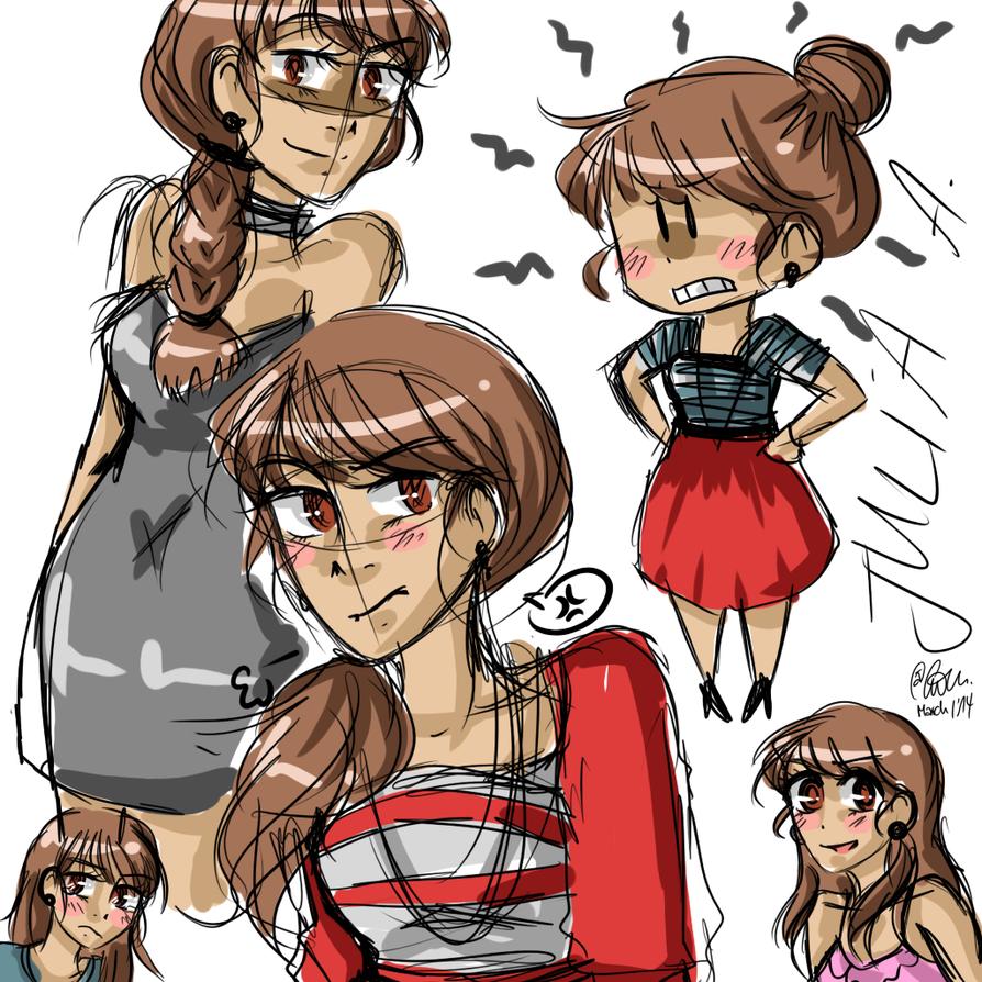 nhg: julia doodles. by TheGweny