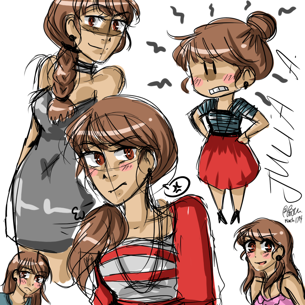 nhg: julia doodles. by TheGweny