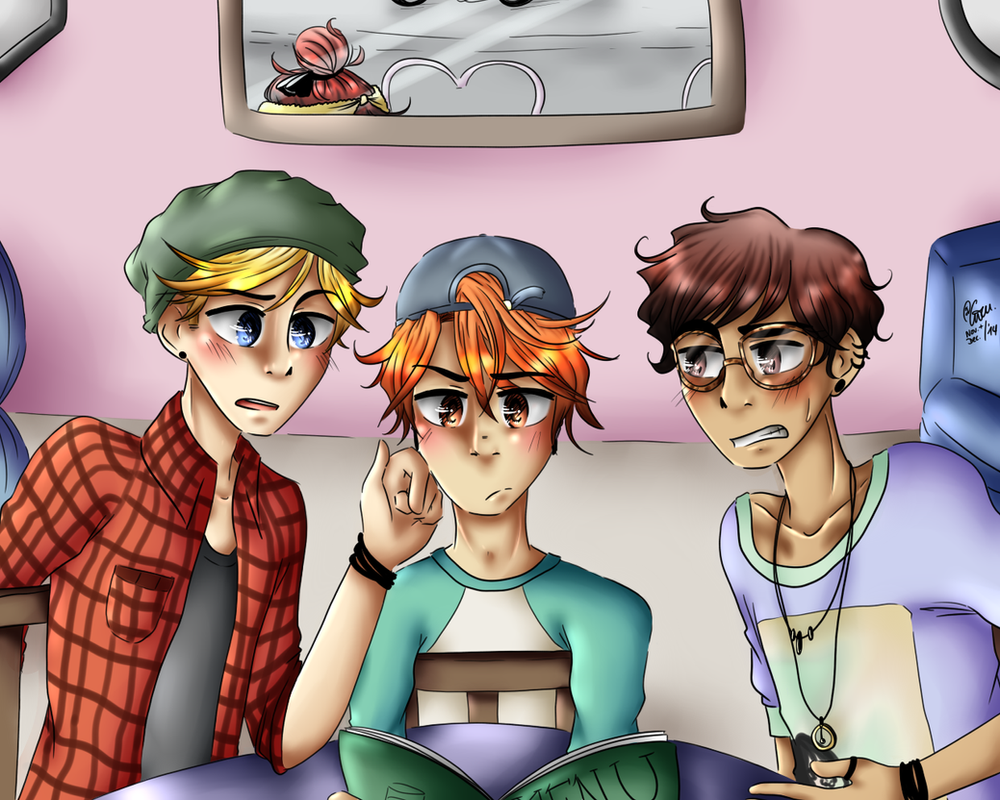 NHG: THE BOYS ARE BACK. by TheGweny