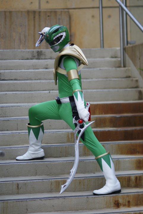 Green Ranger by Catgirl-Calla