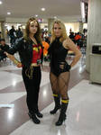 Wonder Woman and Black Canary