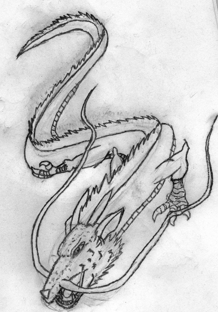 Japanese Dragon By Castlevaniannite