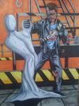Terminator vs t1000