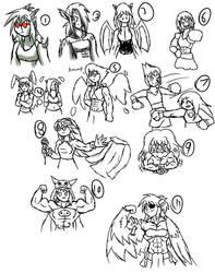 Stream doodles 2 by MetaWarrior94