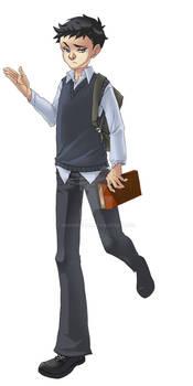 schoolboy damian