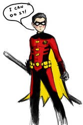 confident robin