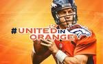 Denver Broncos United In Orange Desktop Background
