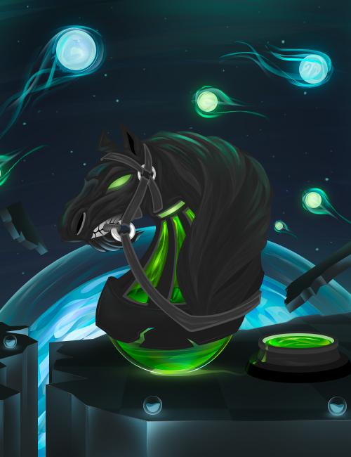VOTACIONES FINAL 8ª MASTERS SPAINGFX Horse_by_sarkham-dayjlna