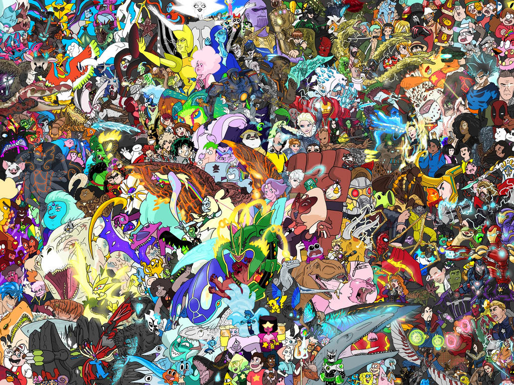 EVERYONE IS HERE! FINALFINALFINALFINAL VERSION by saltyboi-kygan