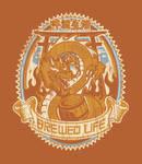 Beer Dragon by Winter-artwork