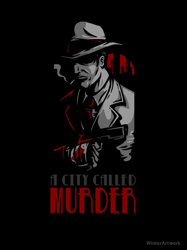 A City Called Murder by Winter-artwork