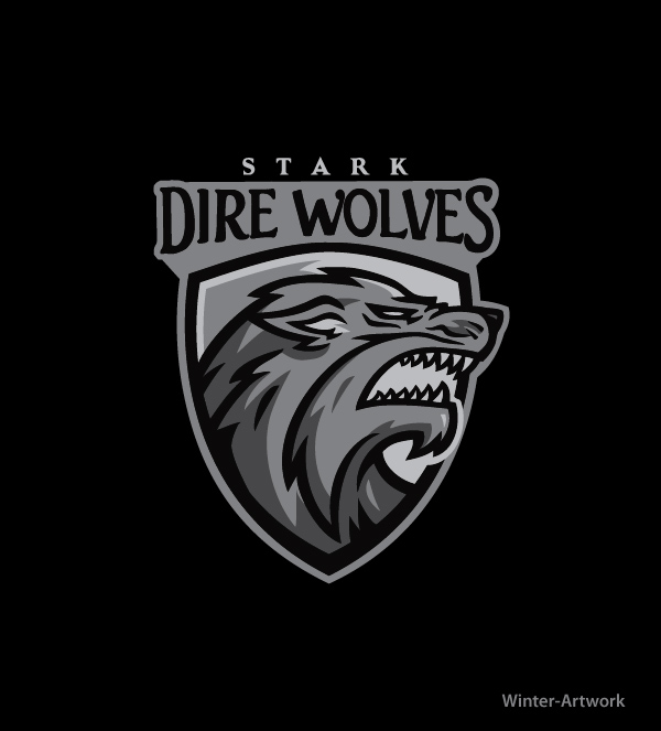 stark direwolves by winterartwork on deviantart