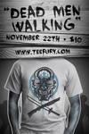 Dead Men walking on TeeFury