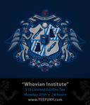 Whovian Institute on Teefury
