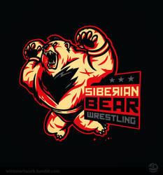 Siberian Bear Wrestling by Winter-artwork