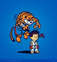 Tiger by Winter-artwork