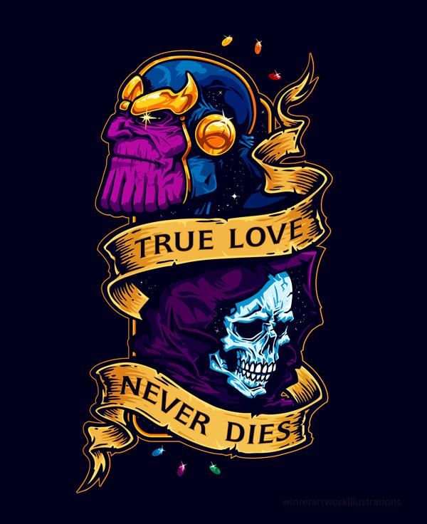 True Love Never Dies by Winter-artwork