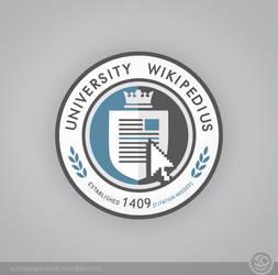 University Wikipedius on woot by Winter-artwork