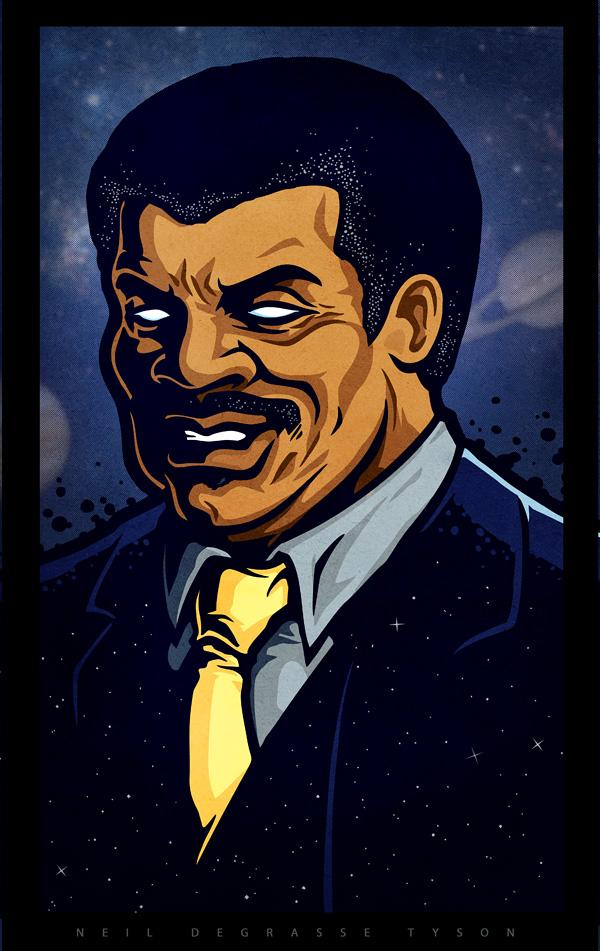 Neil Degrasse Tyson by Winter-artwork