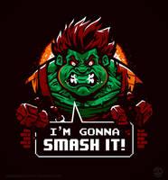 Gonna Smash It! by Winter-artwork
