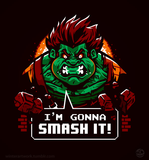 Gonna Smash It! by Winter-artwork