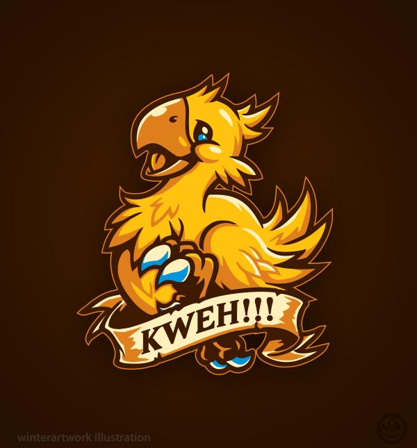 Kweh!!! by Winter-artwork