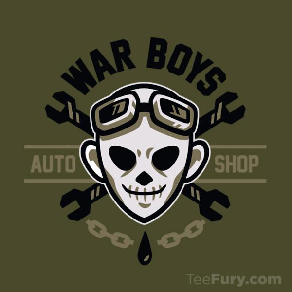 War Boys Auto Shop by Winter-artwork