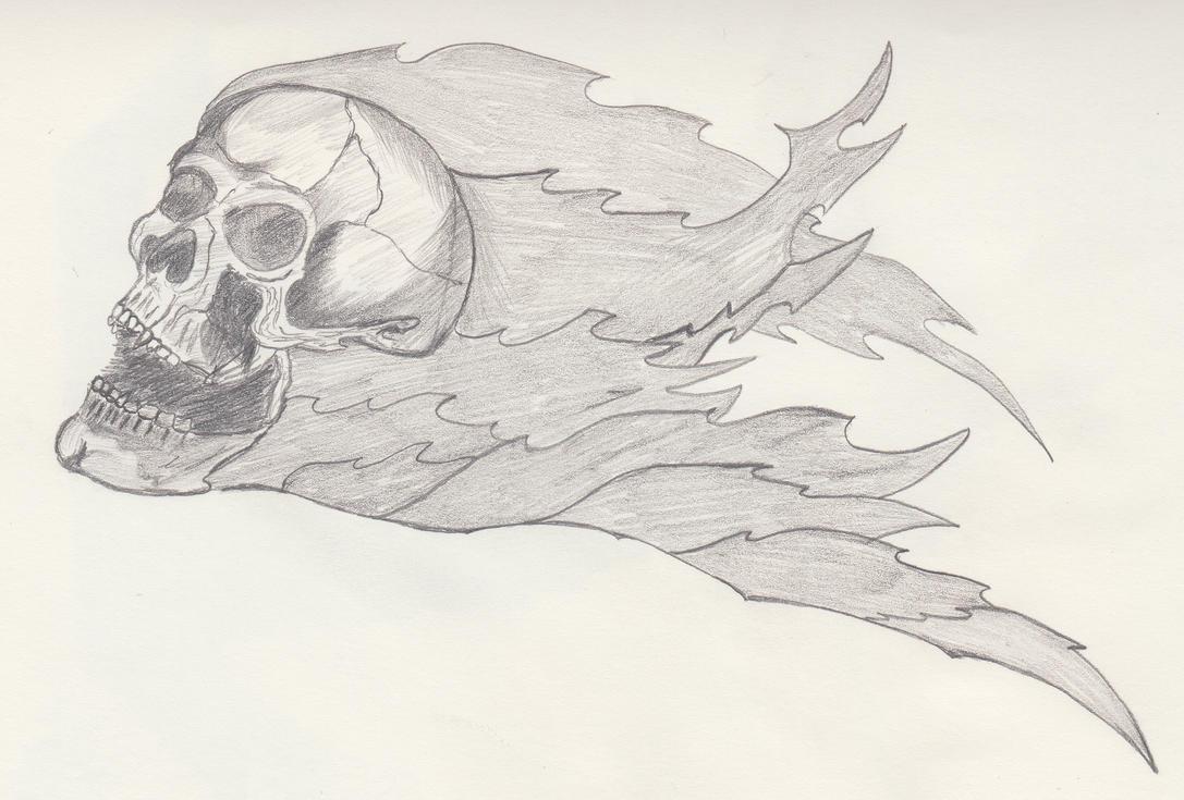 008 - skull by Apkx