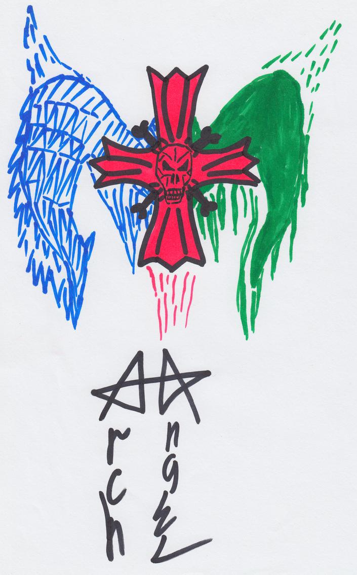 0011 - ArchAngel for tattoo by Apkx