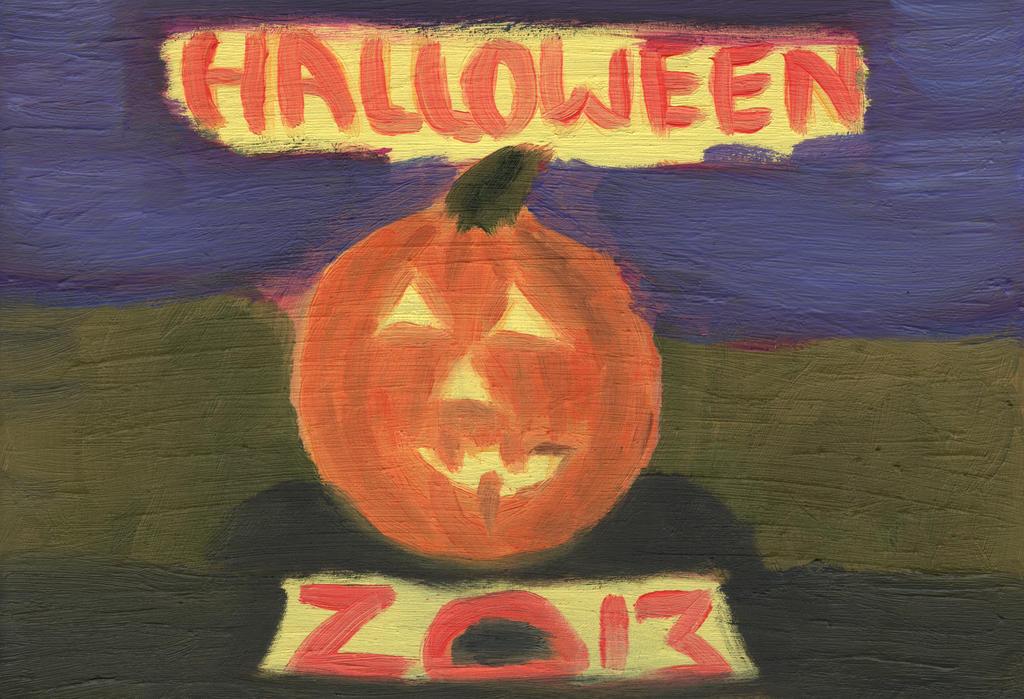 2013.11 Halloween by Apkx