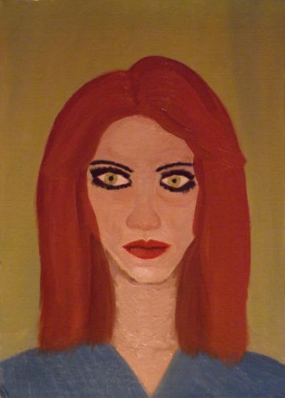 2014.08.28 01:07 Portrait of unknown woman by Apkx