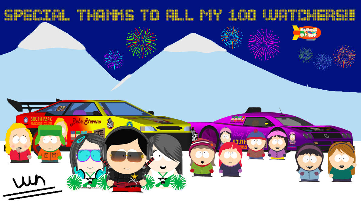 Special Thanks To All My 100 Watchers!!!