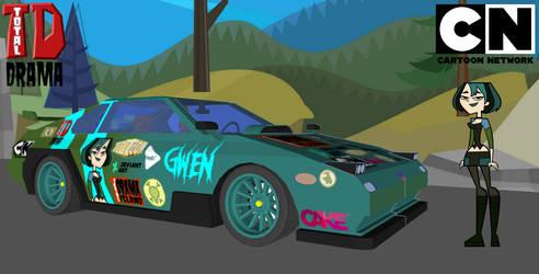 Total Drama Gwen Car Wallpaper