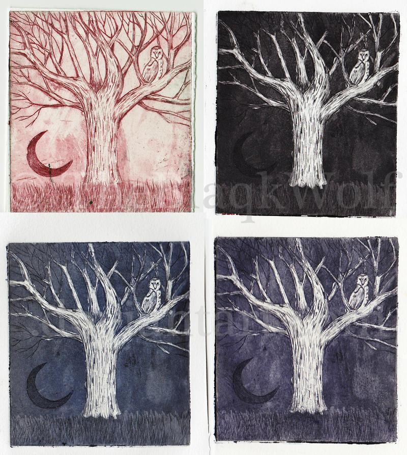 Moon Tree by TheBlaqkWolf