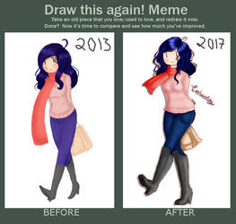 Meme  Before And After by CartoonCoby