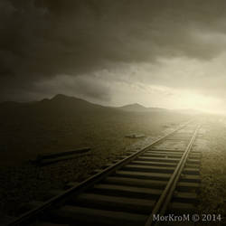 The train to nowhere by MorKroM