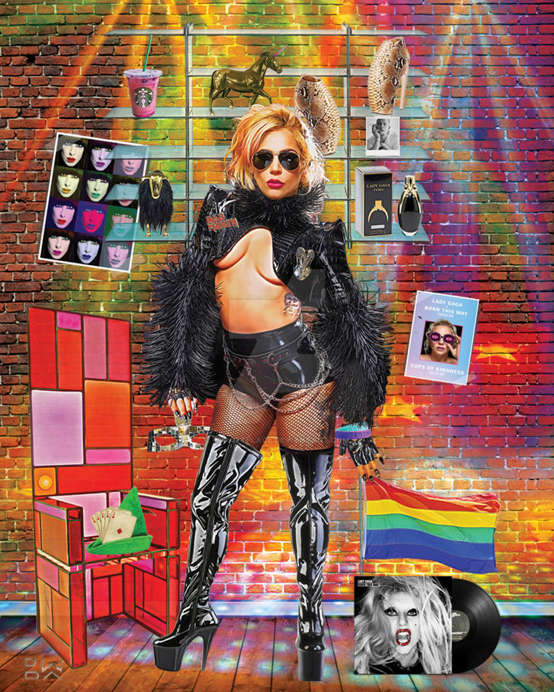 'Lady Fame' by popartplace